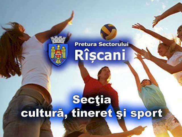 Secţia cultură, tineret şi sport