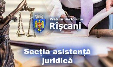 Secția asistență juridică