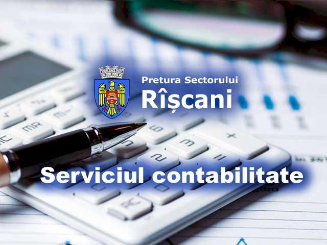 Serviciul contabilitate