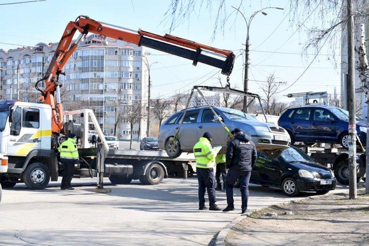 Război unităților de transport parcate neregulamentar  În...