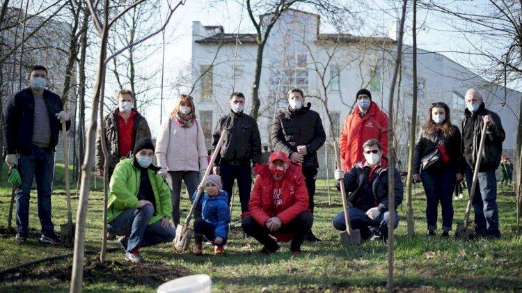 Uniți pentru plantare În acest weekend, în parcul Rîșcani...