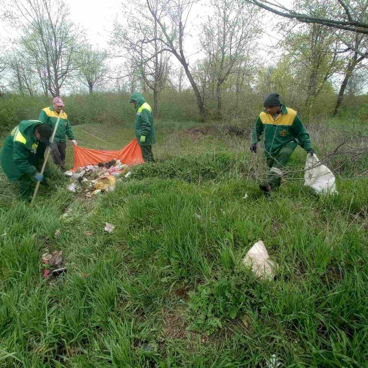 Salubrizarea, 26.04.2021 Continuăm acțiunile de ecologizare a...