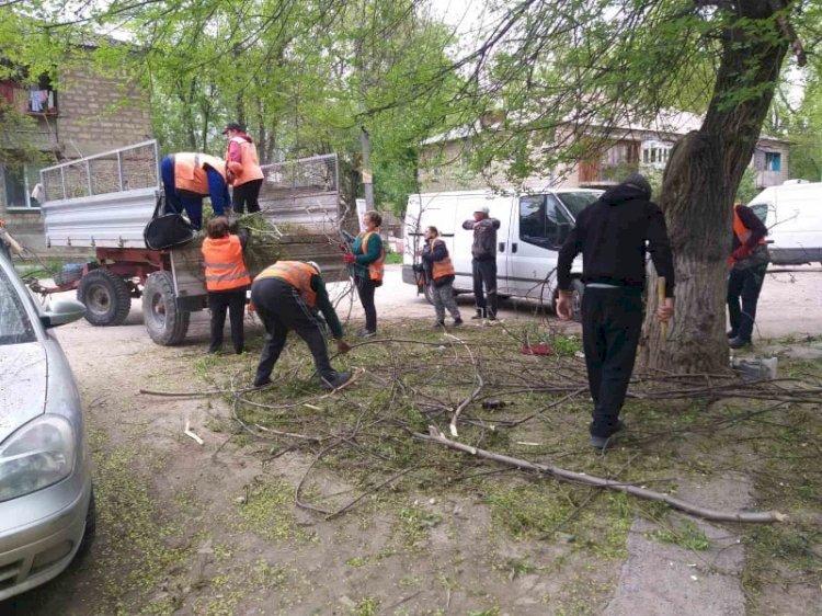 Munca pentru salubrizare Activitatea de întreținere a...